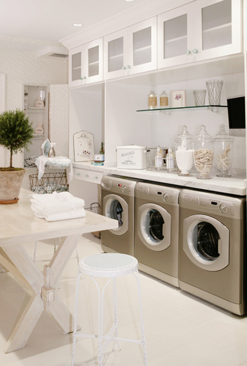 Laundry Rooms - Traditions Cabinetry